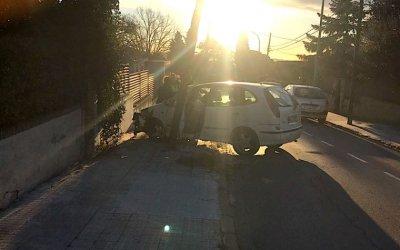 Un accident de trànsit tanca l'accés a la Universitat des de Bellaterra