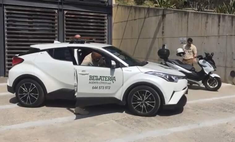 Vehicles dels agents cívics de l'EMD | EMD Bellaterra