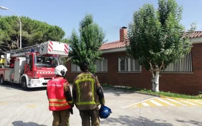 Un incendi crema la cuina de l'escola La Vall