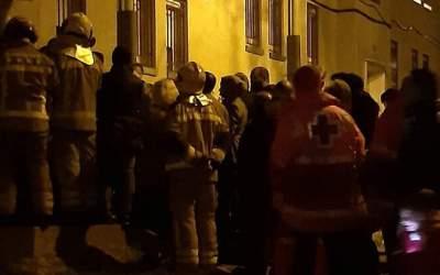 S'enfonsa part d'un bloc a Sabadell i són desallotjades quatre famílies