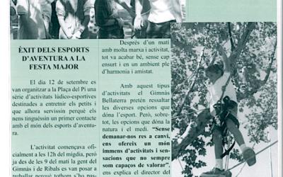 Recordeu com es vivien i s'explicaven les festes de Bellaterra? FM98 Esports + Resultats