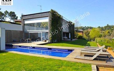 Casa moderna en venda de disseny espectacular