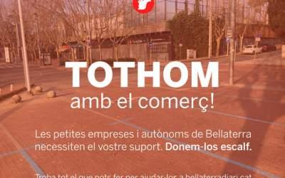 """BellaterraDiari engega la campanya """"Tothom amb el comerç"""""""