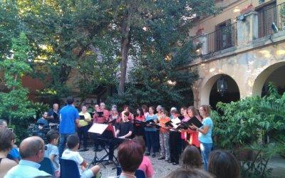 160 assistents al concerts benèfic de les corals de Bellaterra i Cerdanyola