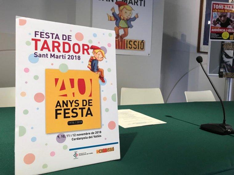 El Martinet torna a ser el protagonista del cartell de la Festa de la Tardor
