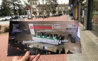 L'edició de febrer del BellaterraDiari, sobre la reunió entre veïns i Ajuntament
