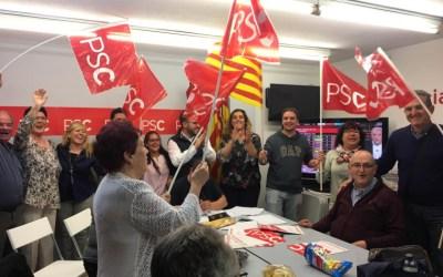 El PSC guanya les eleccions generals a Cerdanyola
