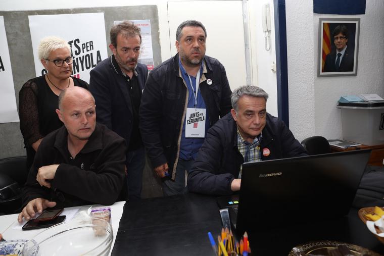 Junts per Cerdanyola, durant les eleccions municipals | Cedida