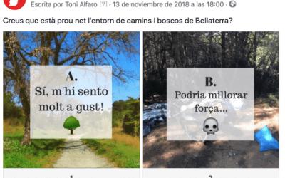 Creus que l'entorn de boscos i camins de Bellaterra està prou net?