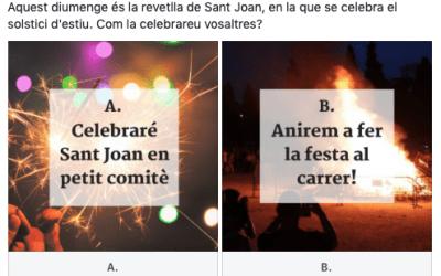 Com celebrareu la revetlla de Sant Joan?