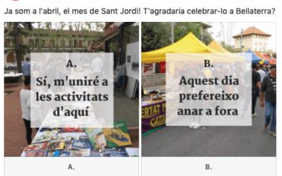 T'agradaria celebrar Sant Jordi a Bellaterra?