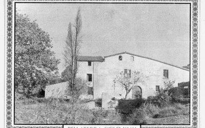 La masia que va suposar l'embrió de Bellaterra