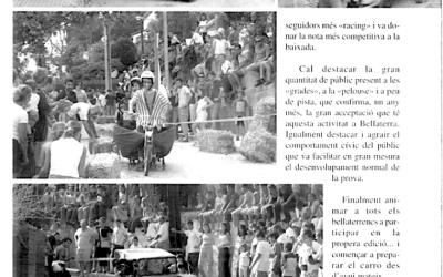 Recordeu com es vivien i s'explicaven les festes de Bellaterra? FM 2002: carros i patins