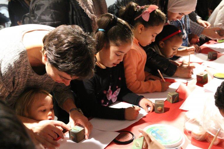 Infants a la Biblioteca Central de Cerdanyola