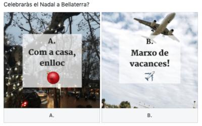 Celebraràs el Nadal a Bellaterra?