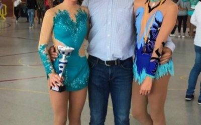 La cerdanyolenca Clàudia Borras s'enduu la copa Barcelona de patinatge artístic