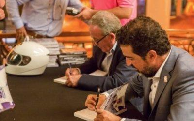 Jordi Robirosa i el cerdanyolenc Manuel Moreno presentaran el seu últim llibre