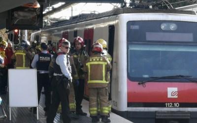 Una persona mor atropellada a l'estació de Ferrocarrils de Sant Cugat
