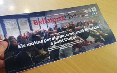 El nou BellaterraDiari en paper, monogràfic sobre la recollida de signatures