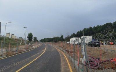 Una avaria en la conducció d'aigua fa tancar la carretera de Cerdanyola a Badia