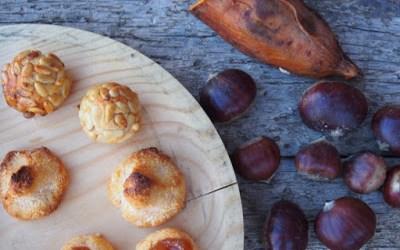Panellets de moniato per la Castanyada