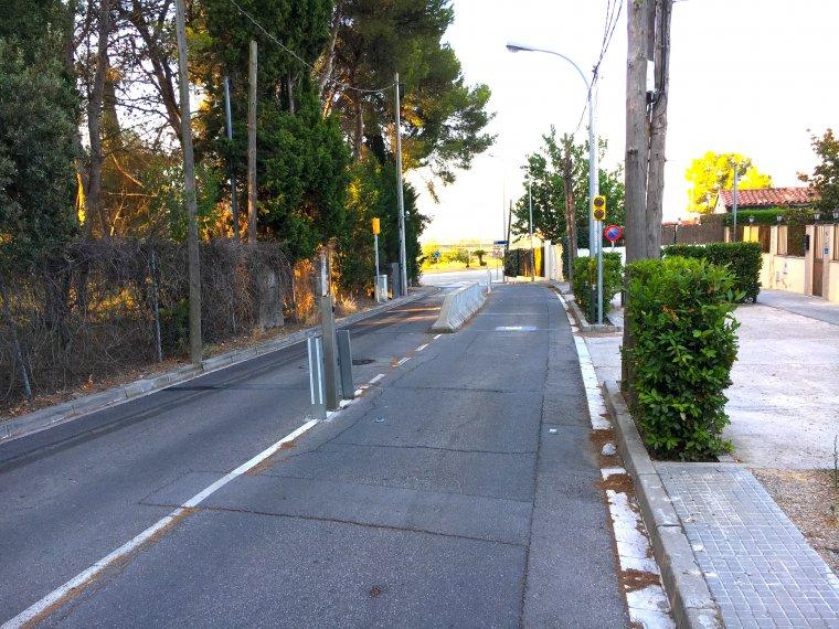 Reducció de la circulació al Camí Antic