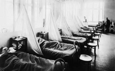 Pamflet sobre les mesures de protecció per la grip espanyola de 1918 a Sabadell