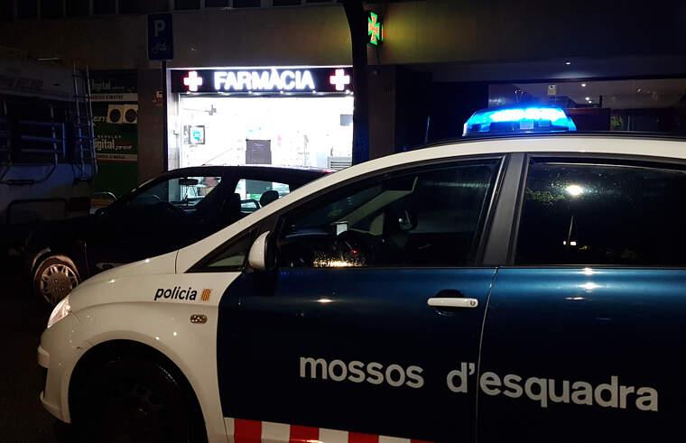 Una patrulla dels Mossos d'Esquadra
