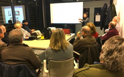 Presentació del sincrotró Alba a Bellaterra