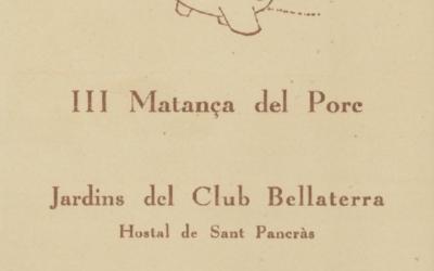 La matança del porc a Bellaterra l'any 1955