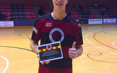 Xavi Serrallonga, campió de la selecció espanyola sub-20