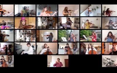 El Musical interpreta un èxit de Queen a través de videoconferència pels sanitaris