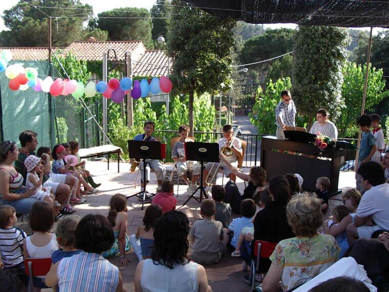 Un concert al jardí d'El Musical de Bellaterra | EL MUSICAL