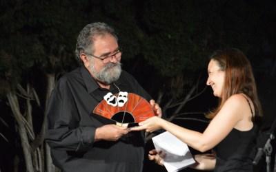 El veí Ignasi Roda, reconegut per l'associació santcugatenca Amics de Pedra i Sang