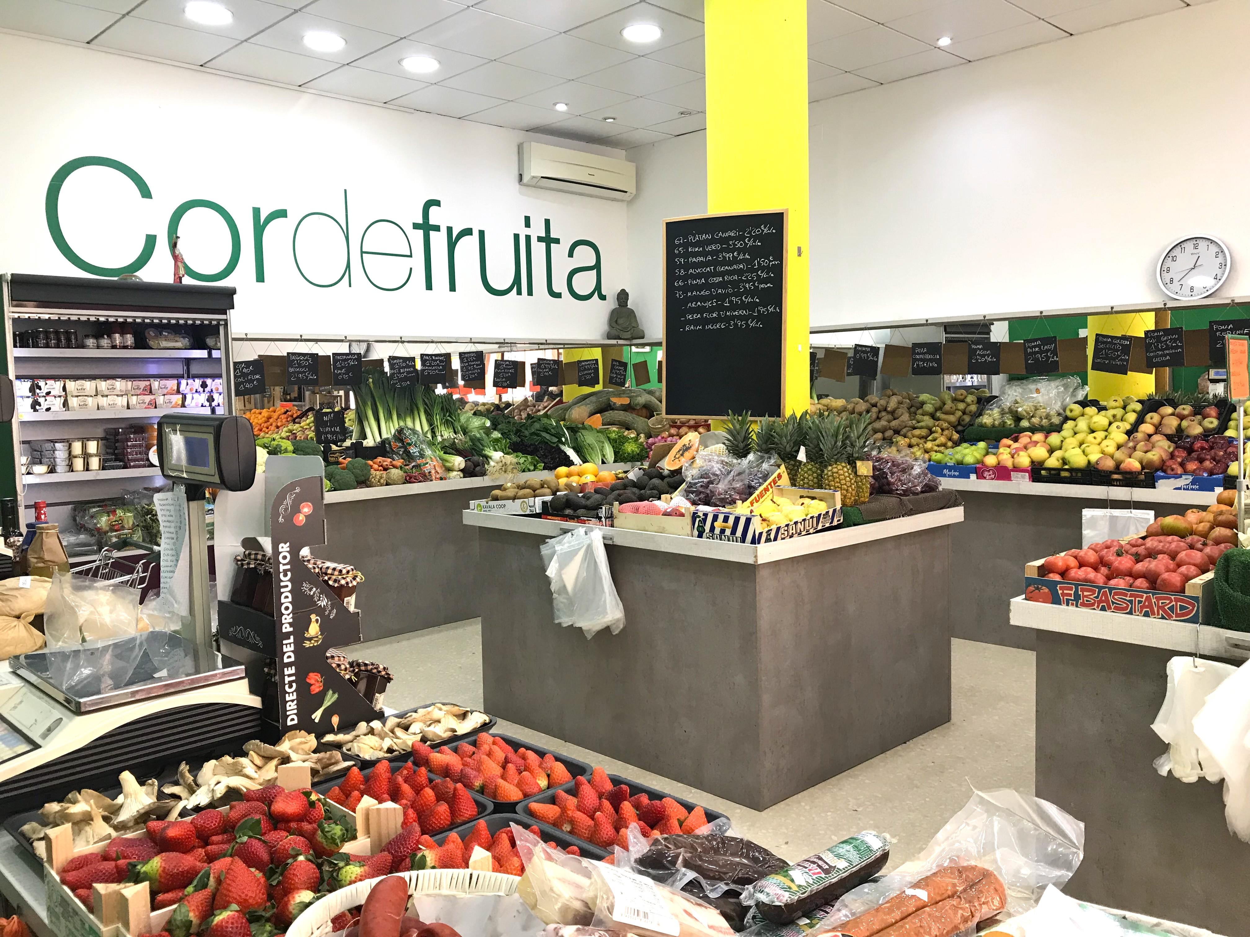 Botiga de Cor de Fruita, a Sant Quirze del Vallès | Redacció