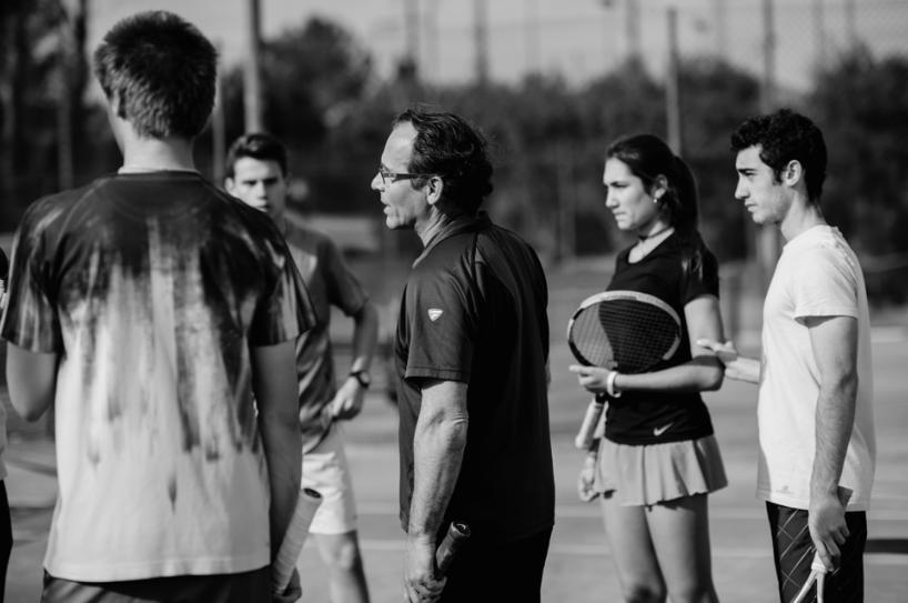 La nova escola de tennis oferirà classes per a totes les edats | Escola de tennis Bellaterra