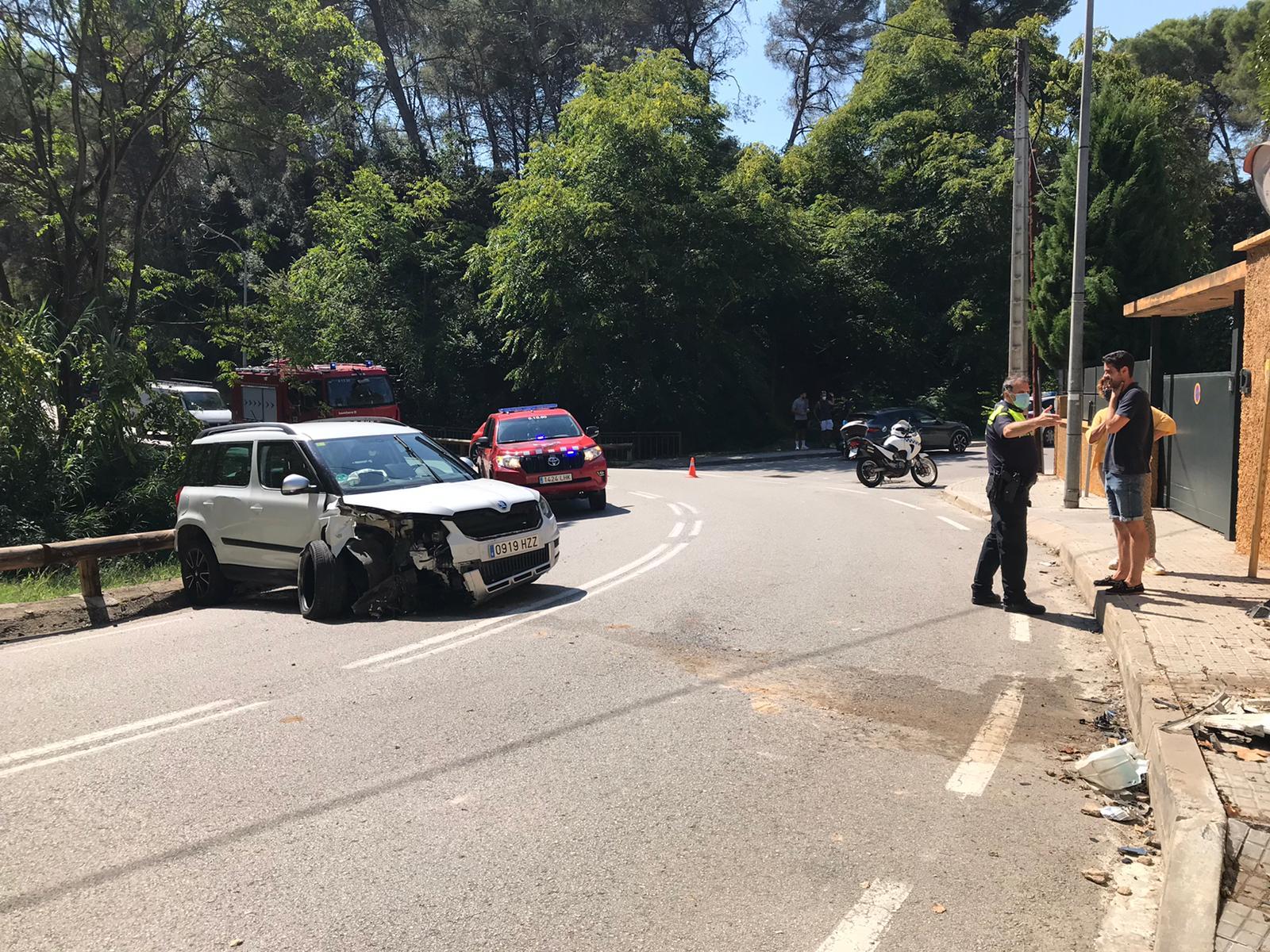 Així ha quedat el cotxe després de l'accident | Redacció