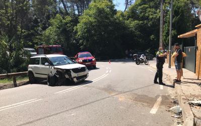 Ensurt entre els veïns pel segon accident a l'avinguda de Bartomeu en un mes i mig