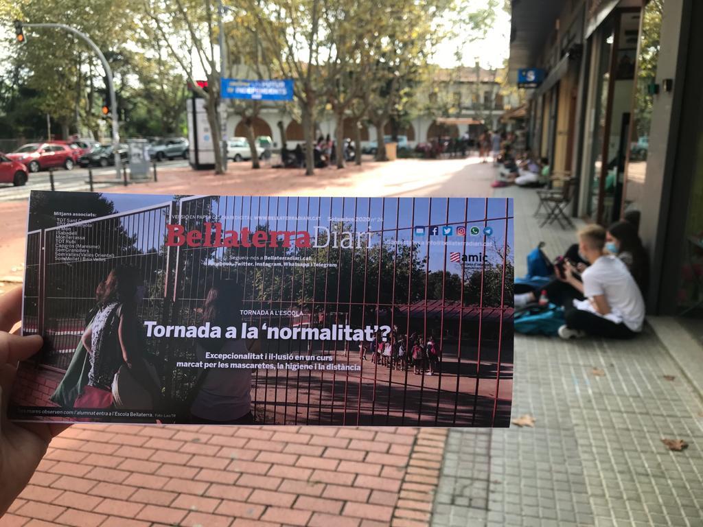 El BellaterraDiari en paper torna al ser al carrer | Redacció