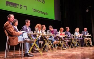 [FOTOS] Les imatges del debat electoral a Cerdanyola
