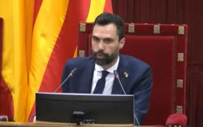 El president del Parlament, Roger Torrent, anuncia la data de les eleccions a Catalunya