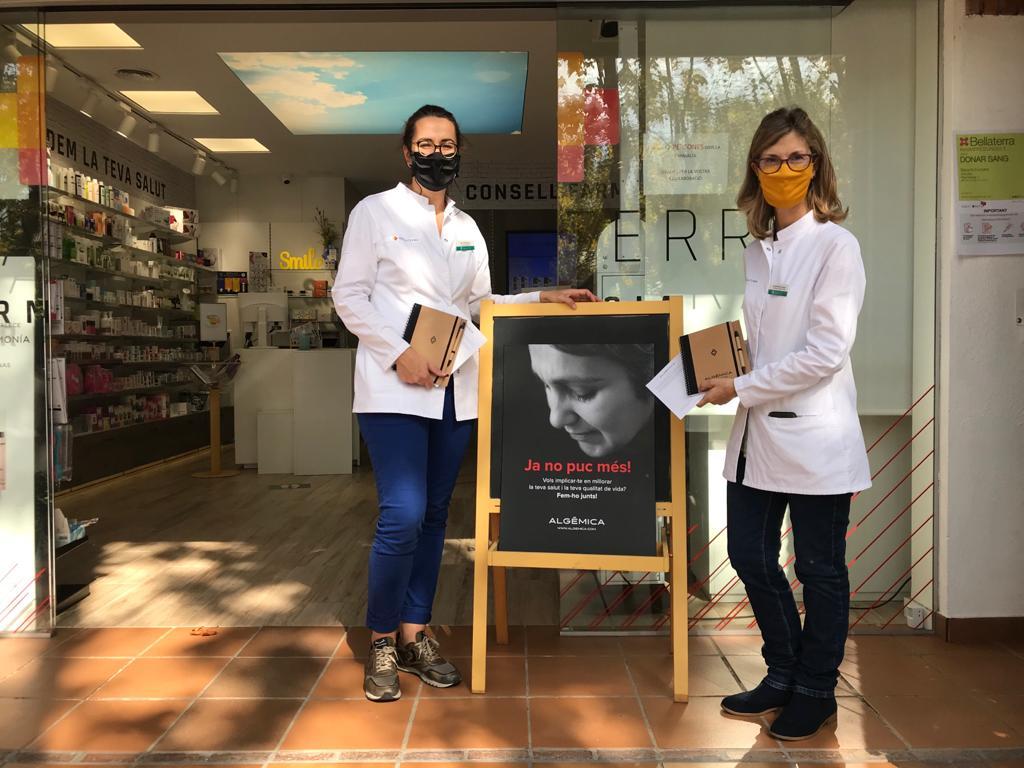Marta Caus i Susanna Hospital, de la Farmàcia Bellaterra | Redacció