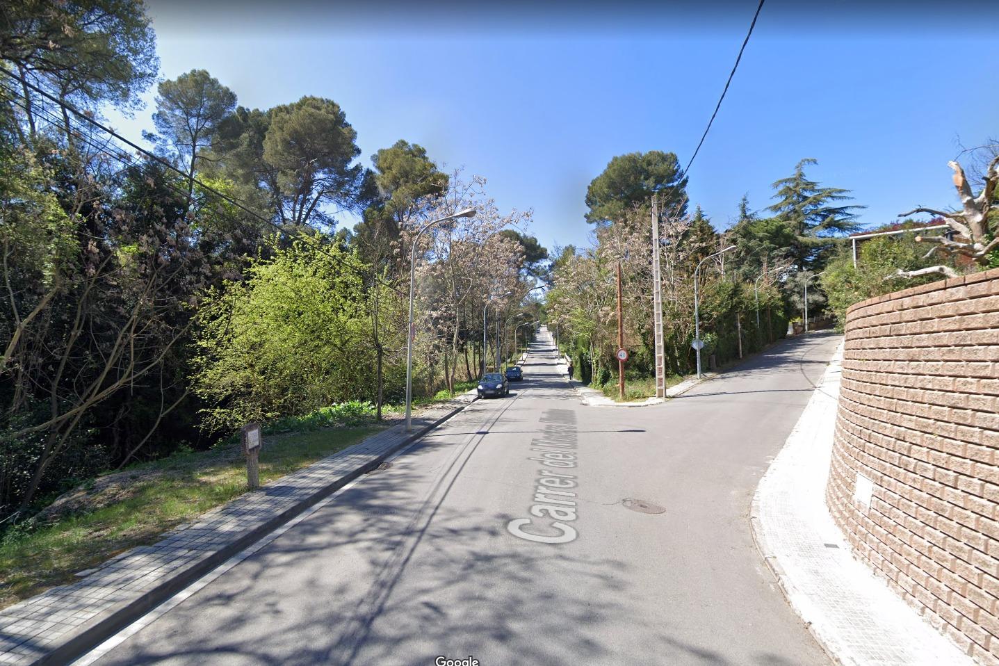 Entrada al carrer Narcís Monturiol, on hi ha hagut el robatori   Google