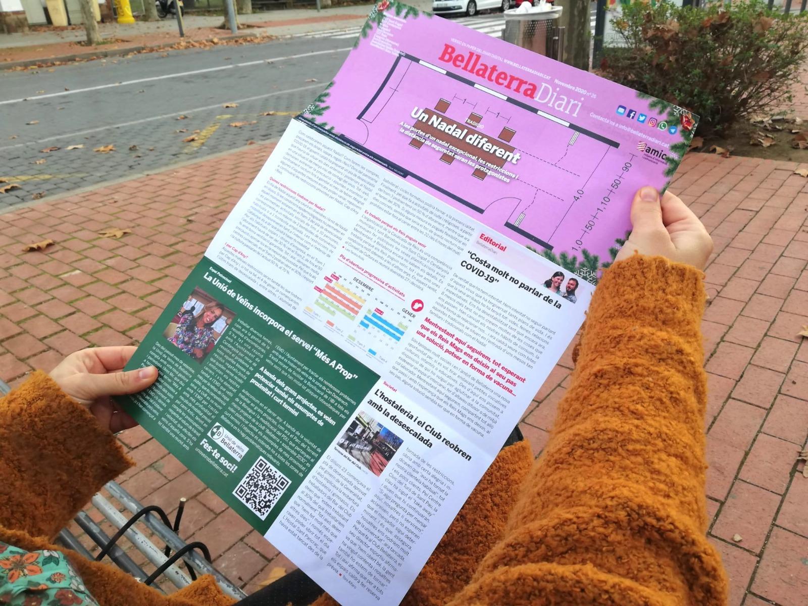 El BellaterraDiari en paper de novembre ja és al carrer | Redacció