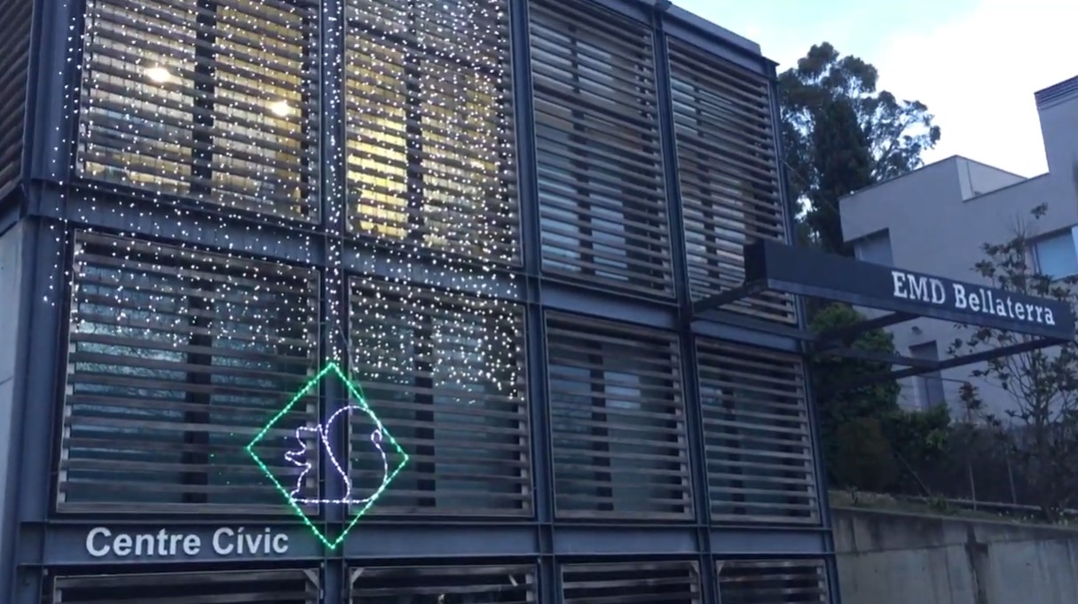 FOTO PORTADA: El Centre Cívic de Bellaterra serà un dels dos punts de recollida | EMD Bellaterra