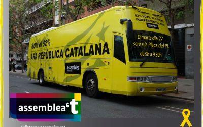 El Bus per la independència visitarà Bellaterra dimarts vinent