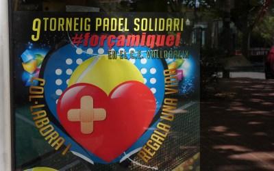 Torna el 9è torneig de pàdel solidari
