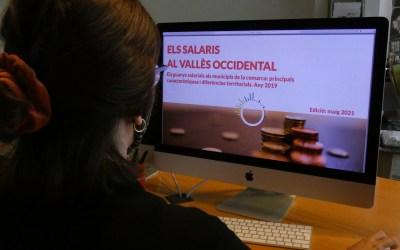 El salari del Vallès Occidental és un 5,7% superior a la resta de Catalunya
