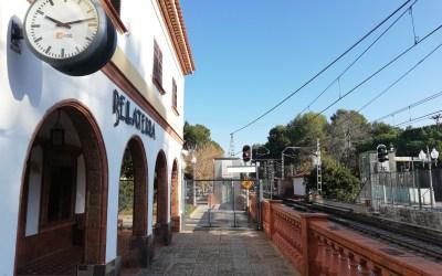 Ferrocarrils de la Generalitat impulsa el projecte de reforma de l'estació de Bellaterra
