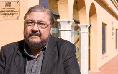 Mor Antonio Franco, professor i president d'Amics UAB